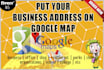 put your business address on Google Maps