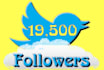 give you 19,500 twitter followers