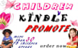 promote Children kindle more than 30 children book groups