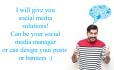 provide social media marketing solutions
