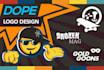 design a DOPE logo