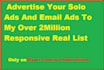 advertise Your Solo Ads And Email Ads To My Over 2Million Responsive Real List
