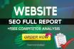 do Website Seo Analysis full Report