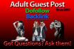 post your adult guest post on my blog on time or its free