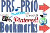 provide 15 High Social Bookmarking to your website