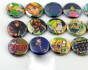 make and send you 4 Random Legend of Zelda 1 Inch Buttons