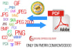 coNVERT any pdf to image or any image to pdf