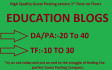 do Guest Post On My Quality Education Blogs