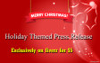 write a Holiday Press Release