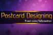 design or redesign your POSTCARD