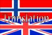 professionally translate English to Norwegian