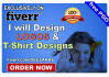 design logos and T shirts with free psd