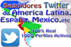 give you twitter Followers from Latin America or Spain