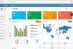 create admin panels using yii framework