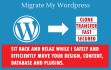 clone or move your wordpress within a day