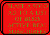 send your solo ads to 81,835 subscribers