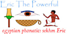 write real Hieroglyphs with colored sings as pharaoh Writer