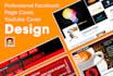 design a banner ,poster, and header