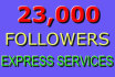 send to your account 28,000 followers