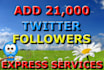 increase your twitter account with 31,000 followers
