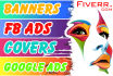 design 5 sizes Attractive Banner Ad