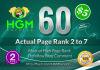 60 Manual DoFollow Blog Comment Actual Page Rank 2 Up To 7