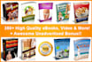 give 350 Plr and Mrr Health Fitness eBooks with videos and 12500 Articles