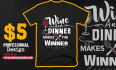create an amazing TEESPRING tshirt design with your idea