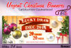 urgently design a Christmas Banner in 24 hours