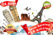 give you over 18,800 Travel Related PLR Articles and Bonus