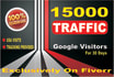 send Unlimited Real Traffic for 1 month