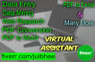 do your work which you want as virtual assistance