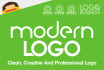 design a MODERN logo