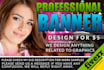 design AWESOME Banner, header, Anything