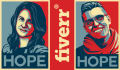 make you an Obama Hope Style poster