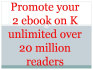 promote your any 2 ebooks over 20 million kindle seekers ebook promotion groups