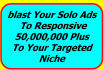 professionally blast your solo,email ads to responsive list
