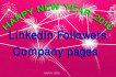 provide 300 USA or Uk LinkedIn followers