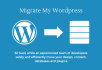 migrate your wordpress site