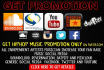 promote your music online to 500K music fans