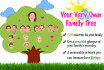 draw a Premium, Memorable Family Tree Caricature