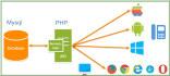 provide mobile or desktop rest API in format json or xml