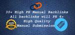 create 30 highpr dofollow backlink