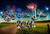 create new year greetings