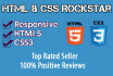fix css issues , css errors and html errors