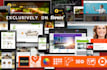 create professional Website Responsive, Parallax Contact me before making