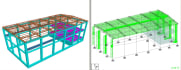 perform structural analysis and design of a structure