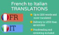translate 1200 words from french to italian