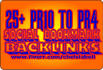 add your site to 25 Pr10 to Pr4 social bookmarking sites