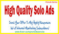 advertise mlm,Solo ads,ad,Blog To 900million targeted fresh Members